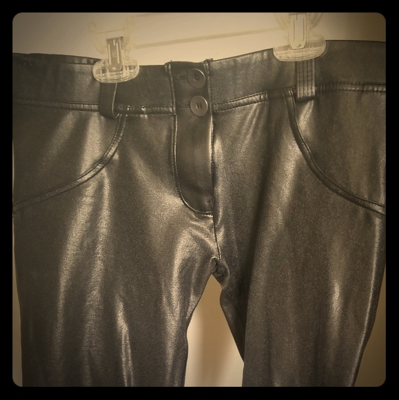 Freddy Pants - Freddy WR UP leather pants